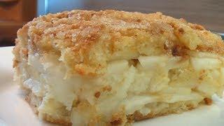 Запеканка из яблок и белых сухарей видео рецепт. Книга о вкусной и здоровой пище