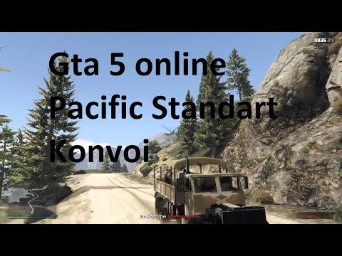 Gta 5 online Heists DLC Der Pacific Standart Konvoi ( wir sind inkompetent)