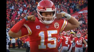 Patrick Mahomes Incredible Touchdown Run | Titans vs. Chiefs | NFL