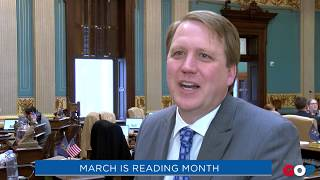 Sen. Nesbitt: March is Reading Month