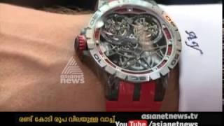 Video Roger Dodger's Watch worth 2 Crore   Gulf News 17 Nov 2016 download MP3, 3GP, MP4, WEBM, AVI, FLV Juni 2017