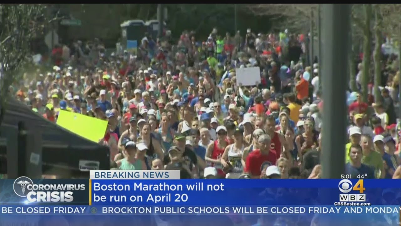 Boston Marathon Will Be Postponed Due To Coronavirus Concerns ...