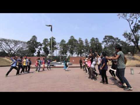 ICC World Twenty20 Bangladesh 2014 Flash Mob  Dhaka University