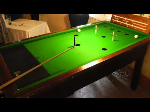 Guernsey Bar Billiards Pairs Open Plate Quarter-Finals - Game 2