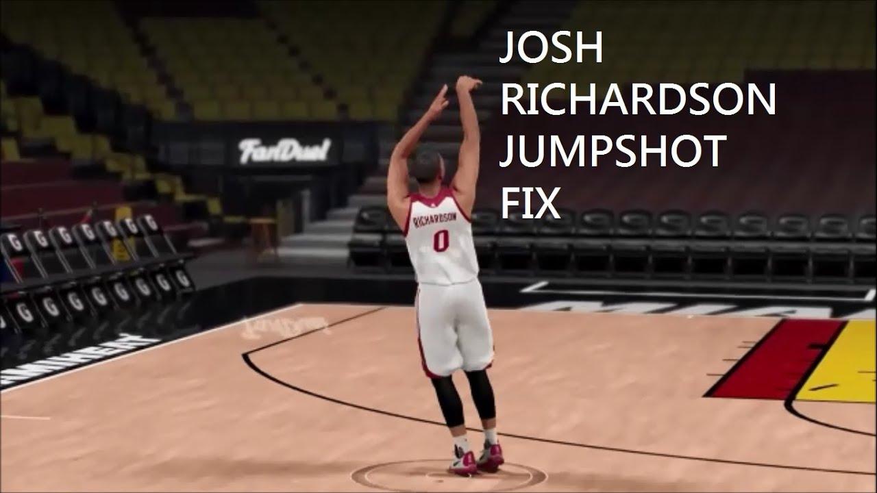 2k16 Josh Richardson Jumpshot Fix - YouTube
