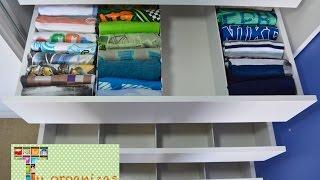 DIY : Divisórias de gavetas