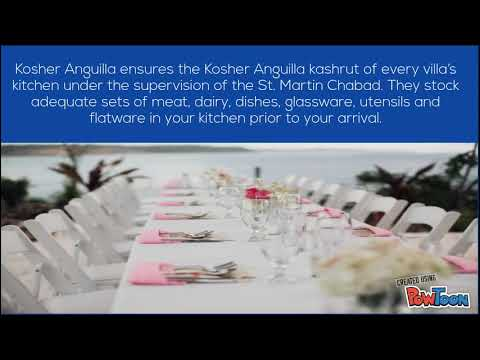 Best Vacations With Kosher Anguilla
