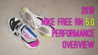 2019 Nike Free RN 5.0 Performance overview