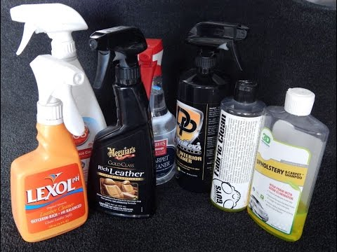 how to clean leather car upholstery without chemicals