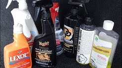 Car Upholstery Cleaners: Which one's can handle cleaning dirty car leather