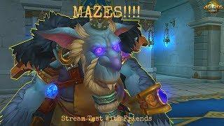 Stream Test Allods Online- MAZES!!!!!!