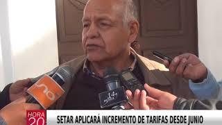 SETAR APLICARÁ INCREMENTO DE TARIFAS DESDE JUNIO