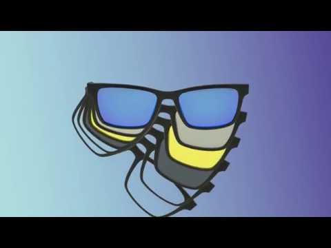 Descubra os óculos com clips magnéticos - Smart Tonic! - YouTube ae7c9fd392