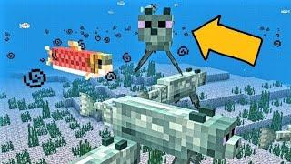 6 НОВЫХ МОБОВ в Minecraft PE 1.9.0.3 + СНЕГОХОД | МОД | СКАЧАТЬ