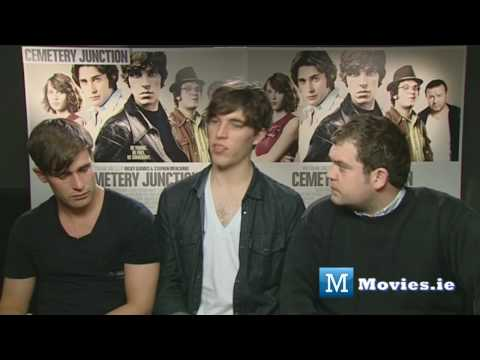 Cemetery Junction cast get grilled - Christian Cooke, Jack Dolan & Tom Hughes Interview