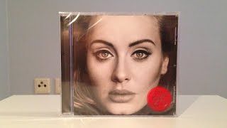 Adele - 25 (Unboxing) HD