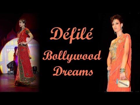 Défilé haute couture Indien Bollywood Dreams par Narkis Fashion Epinay sur Seine France
