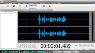 Как снять фильм (Ч.5.5.4) Обработка звуковых файлов