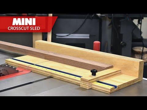 Mini Table Saw Cross Cut Sled Jig