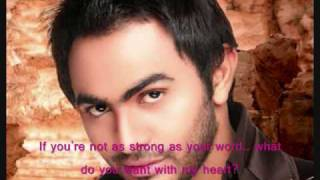 tamer hosny   2alby elly 7abbak ♥english subtitles♥