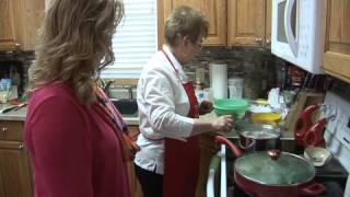 Cooking Crave - Ep. 114 - Tomato & Spinach Pasta Toss & Pasta Coleslaw