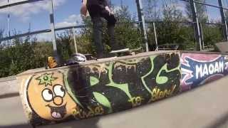 GoPro Hero 3 Skateboarding I Also Fall On My Face (Entropy)