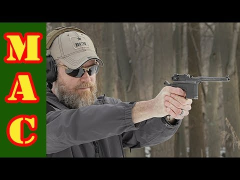 Affordable Combat Collectibles - Mauser C96 Broom Handle