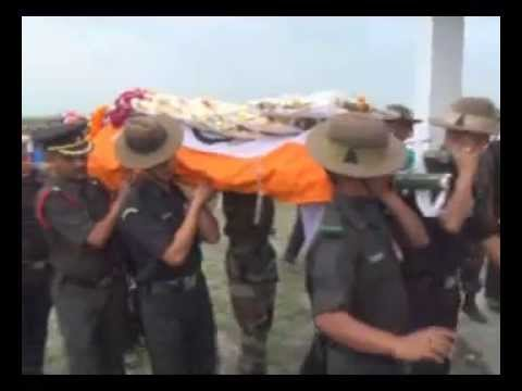 INDIAN ARMY SALUTES GORKHA REGIMENT'S MARTYR