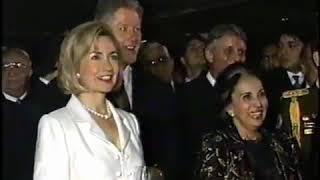 La Macarena en La Casona - Visita oficial de Bill Clinton a Venezuela (1997)