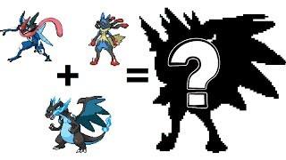 pokemon fusion sprite request 81 ash greninja mega charizard x mega lucario