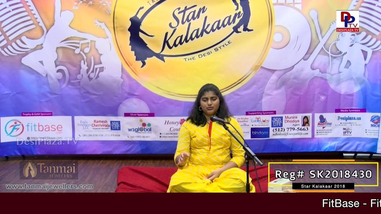 Participant Reg# SK2018-430 Performance - 1st Round - US Star Kalakaar 2018 || DesiplazaTV