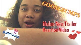 Disney's Mulan - Official Trailer REACTION VIDEO!!! Goosebumps pa more!!!!