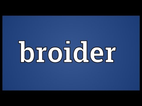 Header of broider