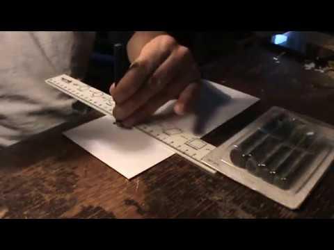 Making Fish Scales Stencils
