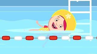 Развивающие мультики для детей. Смарта в бассейне. Мультсериал Смарта и чудо сумка
