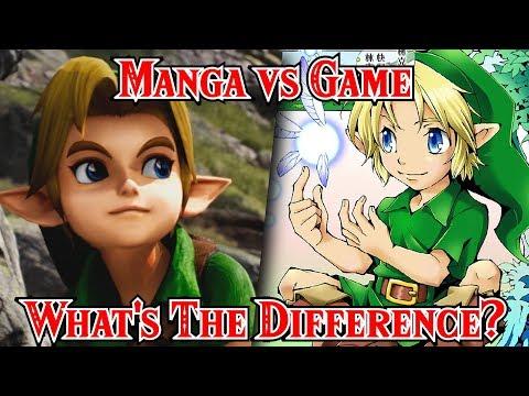 Manga & Comic Vs. Game | Top 10 Differences Zelda Ocarina Of Time