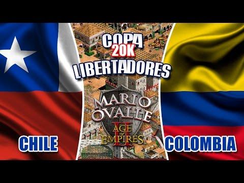 COLOMBIA VS CHILE COPA 20K LIBERTADORES DEL AGE OF EMPIRES 2