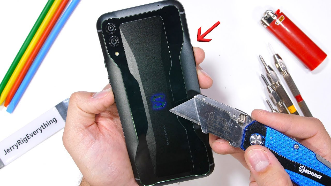 Black Shark 2 Durability Test! - a Cheap Gaming Phone?!