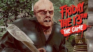 Friday The 13th The Game Gameplay German - Mit dem Knüppel