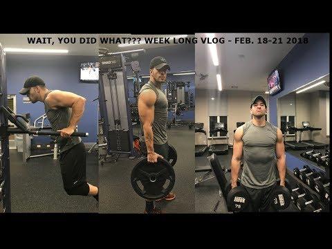 WAIT, YOU DID WHAT??? - Week Vlog. Feb. 18-21