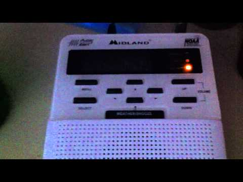 Child Abduction Emergency on NOAA weather Radio