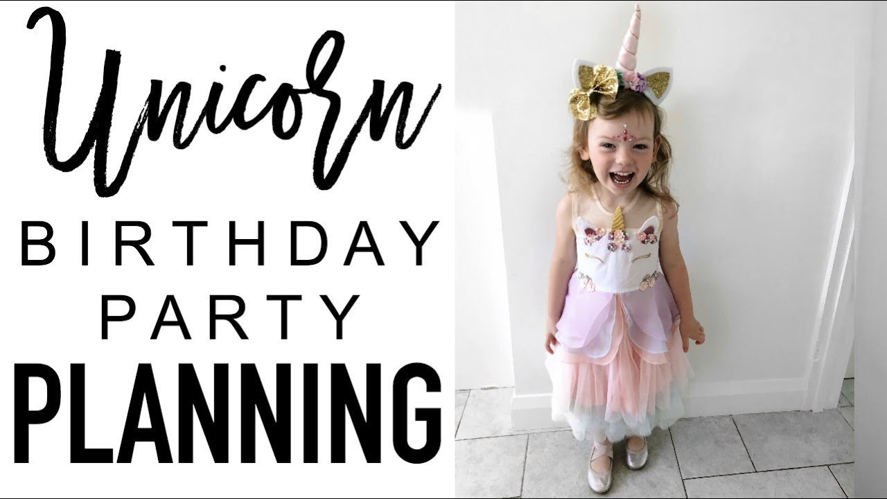 UNICORN PARTY PLANNING | Unicorn Party Decor Haul and Party Bags