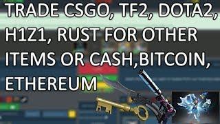 TradeIt.gg l TRADE CSGO, TF2, DOTA 2, H1Z1, RUST Items for CASH