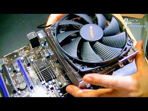 CPU PROZESSOR KÜHLER TAUSCHEN | SEHR LEISEN LÜFTER EINBAUEN | COMPUTER PC TUTORIAL DETAIL ANLEITUNG