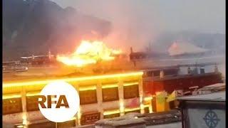Large Fire at Sacred Tibetan Monastery | Radio Free Asia (RFA)