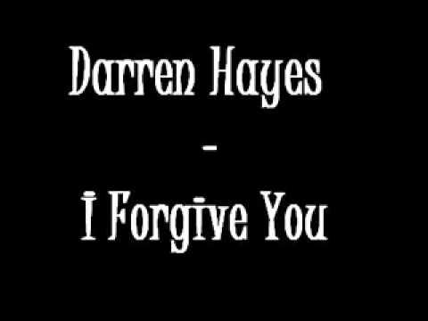 Darren Hayes - I Forgive You w/ Lyrics