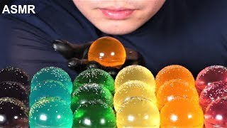 ASMR Rainbow jelly 레인보우젤리 レインボーゼリー 彩虹果冻 เยลลี่เรนโบว์  Thạch…