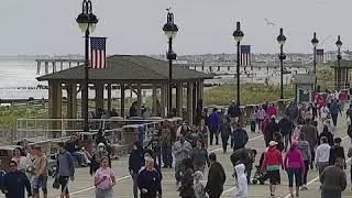 Crowds hit New Jersey boardwalk as nation cautiously reopens amid COVID-19   ABC News