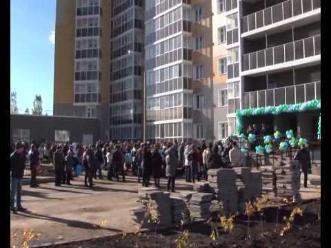 Новый жилой комплекс «Речной бульвар»  открыл свои двери