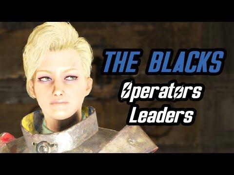 Fallout 4 Nuka World - Meet Mags and William - Gang Bosses of the Operators Raider Gang